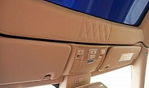 Set of sunvisors to be covered in leather / Alcantara