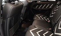 Front Seat Back Covers in Leather / Alcantara