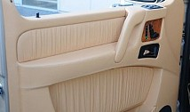 Door Covers in Leather / Alcantara