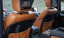 Seat back Covers in Leather / Alcantara