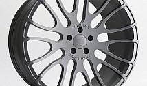 "Hamann 22 Inch Light Alloy Wheel Unique Forged ""Gunmetal"" - Porsche Panamera"