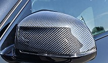 Mirror Covers in Carbon Fibre (F15)