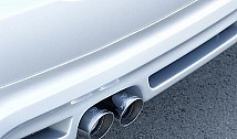 Rear End Panel for 2 Tailpipes (E90)