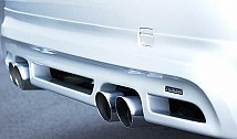Rear Centre Moulding for 4 Tailpipes (E90)