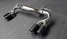 Rear Muffler with 4 Tailpipes
