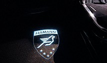 LED Door Entry Lights with Hamann Logo