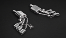 Capristo Three Tailpipe Exhaust System