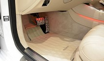 Floor Mats (Quilted Leather)