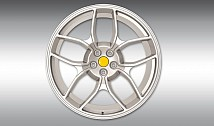 Type NF4 Forged Aluminium Wheel - Silver