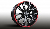 Monoblock R Wheels (Red/Black)