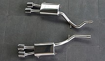 Rear Muffler with 4 Tailpipes (Turbodiesel)