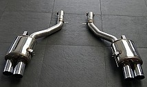 Sport Rear Muffler with 4 Tailpipes (F10)