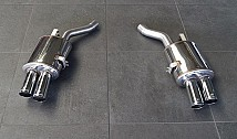 Sport Rear Muffler with 4 Tailpipes (E63/E64)