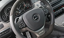 Steering Wheel Cover in Carbon (F10/F11)