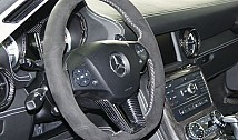 Sport Steering Wheel in Carbon