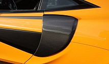 Side Air Intake Covers (Carbon)