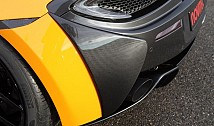 Rear Bumper Side Covers (Carbon)