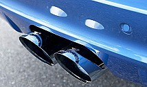 Sport Rear Muffler with 2 Central Tailpipes (E70)