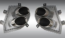 Stainless Steel Exhaust Tailpipes with New Mesh Inlets