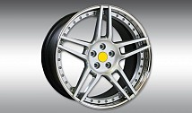 Type NF3 Aluminium Wheel Star - Silver