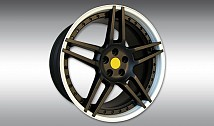 Type NF3 Aluminium Wheel Star - Custom Colour