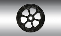 Set wheels / tyres NL3 forged, (inc. central locking system)