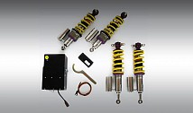 KW Aluminium Coilover Sport Suspension (Hydraulically Adjustable, Dual Adjustment)