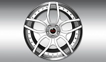 Type NL1 Forged Aluminium Wheel - Silver