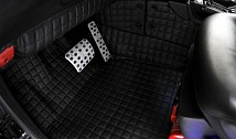 Passenger Compartment Floor (Quilted Leather)