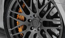 Monoblock F Wheels (Platinum Edition,Titan Gunmetal)