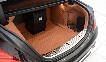 Trunk Mat (Quilted Leather)