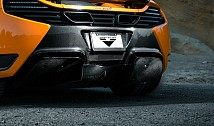 MP4-VX Rear Diffusor & Rear Bumper