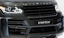 STARTECH Front Bumper and Carbon Diffusor for Range Rover Vogue (2013)
