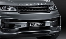STARTECH Front Bumper with Carbon Spoiler for Range Rover Sport (2014)