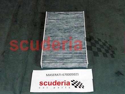 Estimate My Car Payment >> Maserati 670005021, Pollen Filter - Scuderia Car Parts