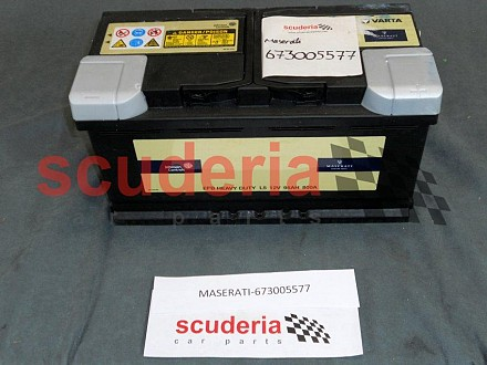 Maserati 673005577 95ah 800a Battery Scuderia Car Parts