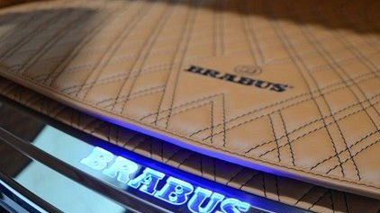 Entrance Illuminated Back Door Panel From Brabus Mercedes