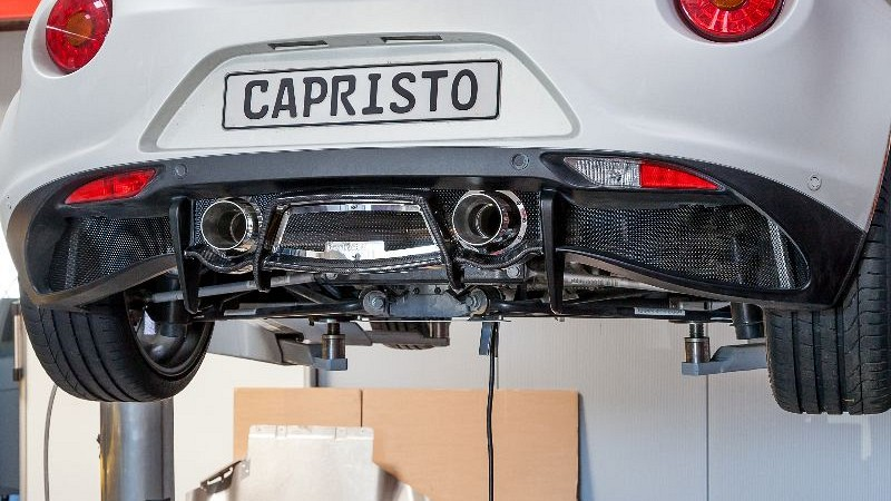Capristo Sports Exhaust with mufflers Image 4