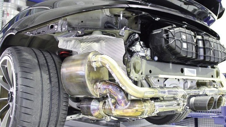 Sport Exhaust System Kit 3 Lightweight Image 4