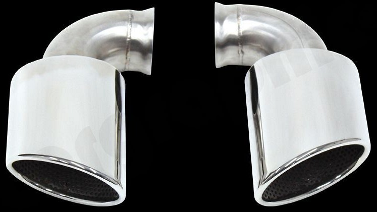 Rear Silencer Replacement Tailpipe Set Image 1