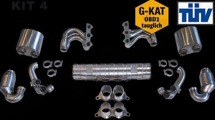 Sport Exhaust System Kit 4 Image 1