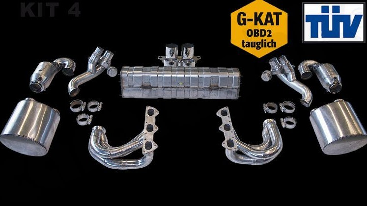 Sport Exhaust System Kit 4 Image 2