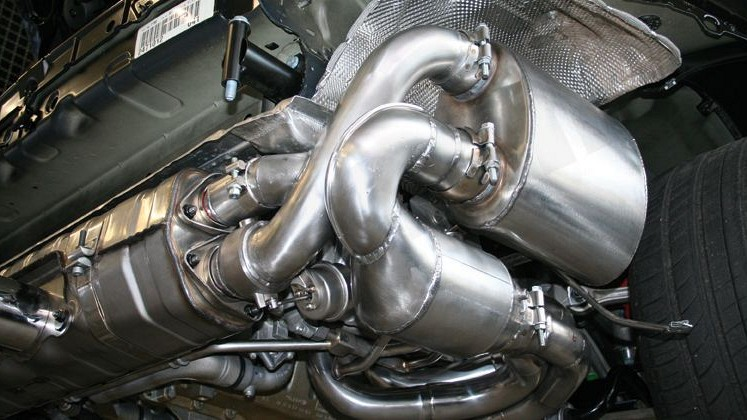 Sport Exhaust System Kit 4 Image 3
