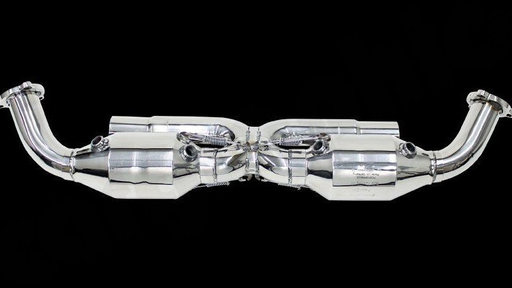 "Sport Catalytic Converter Set ""X"" Pipe Version Image 2"