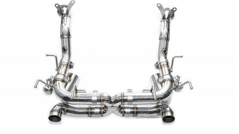 ferrari 458 speciale performance exhaust from ipe