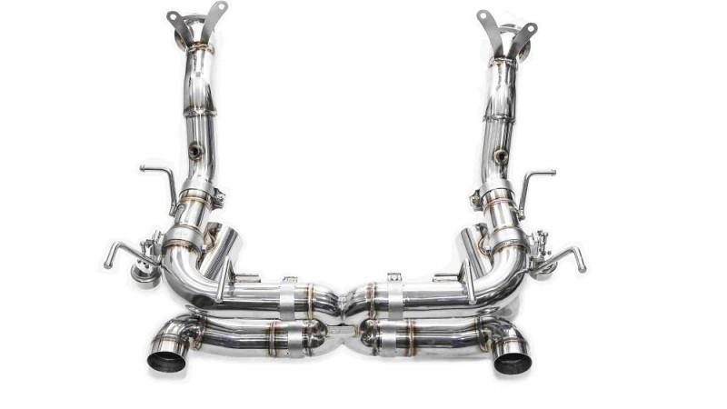 ferrari 458 speciale performance exhaust from ipe