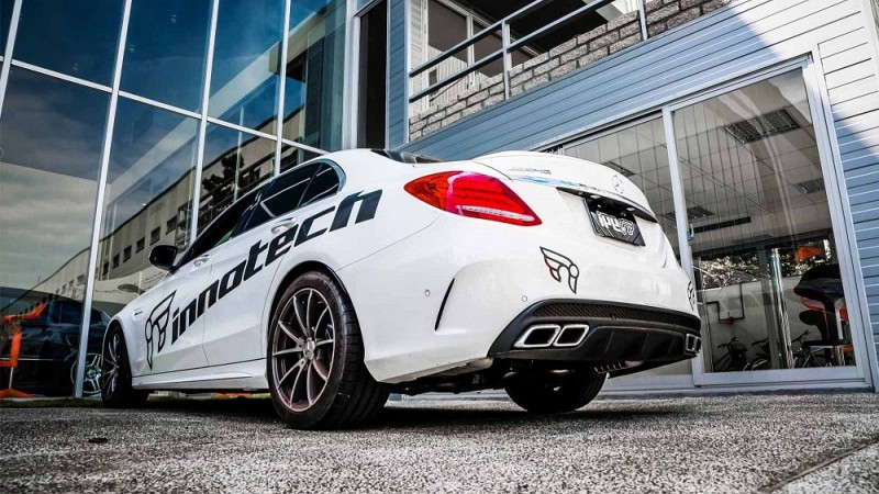 iPE Innotech Performance Exhaust (W205) Image 12