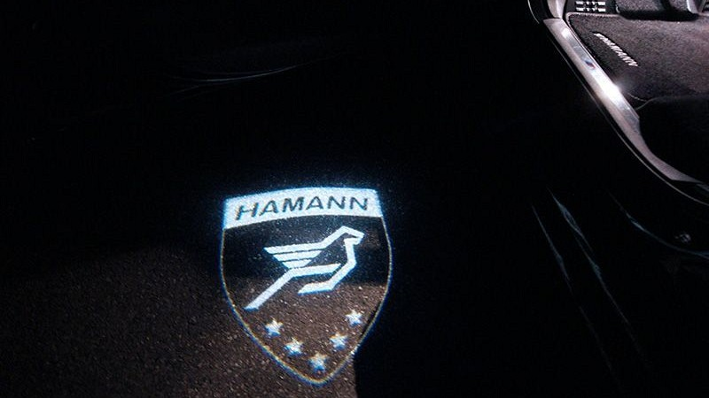LED Door Entry Lights with Hamann Logo Image 1