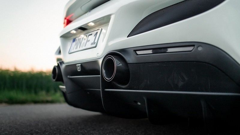 Carbon Stainless Steel Tailpipes Image 1