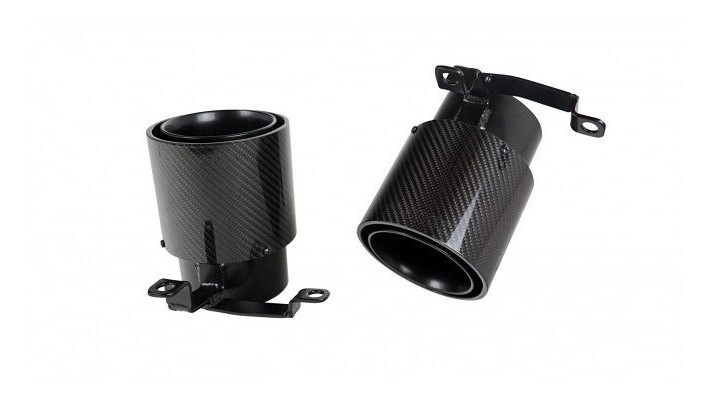 Carbon Stainless Steel Tailpipes Image 3